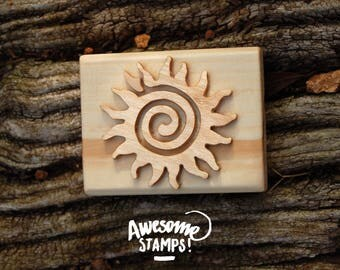 SOAP stamp spiral Sun (big)