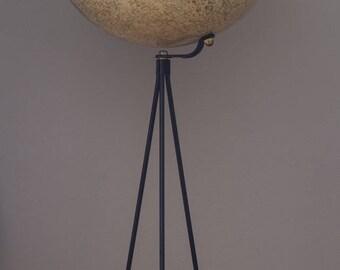 "Rand McNally Mid Century Modern 12"" Tripod Lunar Floor Globe Moon Cram's McCobb"