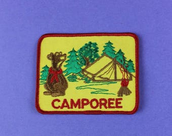 Camporee Vintage Boy Scout Patch