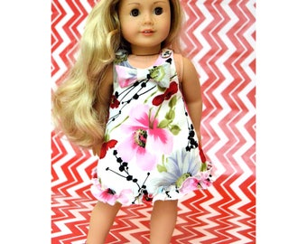 18 inch doll clothes Pattern, dress American girl doll clothes pattern dress  - PDF sewing pattern - instant download