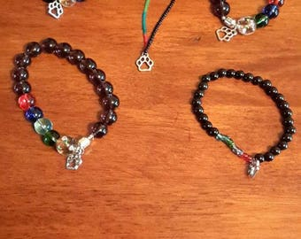 Rainbow Bridge bracelets