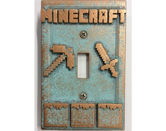 Minecraft - Light Switch Cover