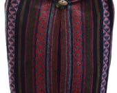 Woven cotton shoulder bag.Hobo bag MessengerHippie Gypsy SlingHippy Hobo CrossbodyMedium