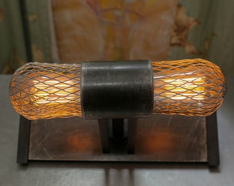 Caged Table Light