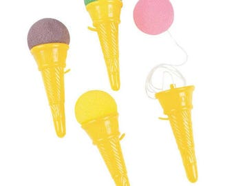 6/I love My Ice Cream cone shooters   / ice cream party / ice cream / party favors /