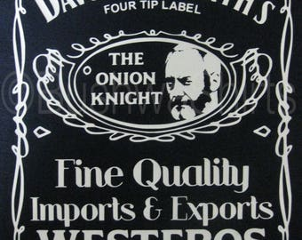 Davos Seaworth Tee T Shirt Top Mens & Ladies Game Of Thrones Inspired The Onion Knight