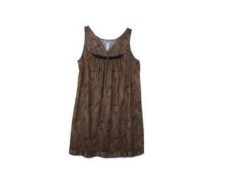 Vanity Fair Leopard Slip Dress