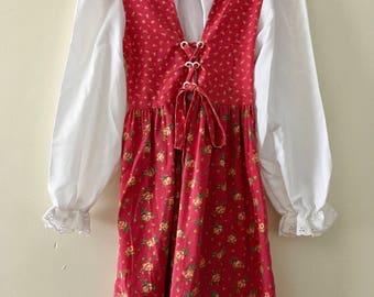 Vintage Prairie Dress- Size 6X