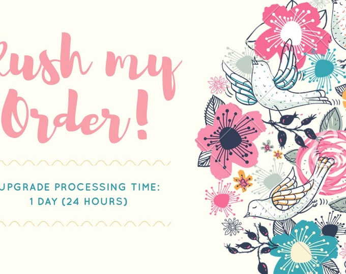 Rush My Order - Ships within 24 Hours