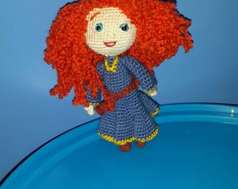 Merida - Brave Disney Princess - Mérida doll