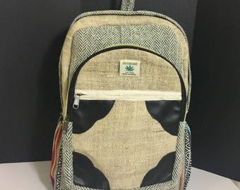 Pure Hemp 100% THC Free Gypsy Backpack