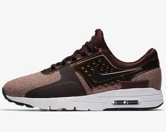 Nike Air Max Zero Premium Custom Crystal Nike Sneakers Bling Nike Shoes