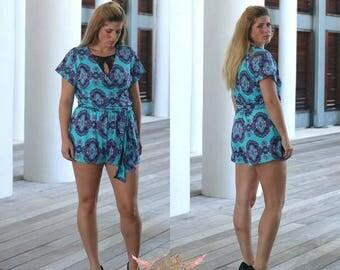 Journey Romper PDF Sewing Pattern Women Sizes XS-XXXL