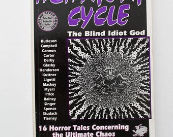 Rare and Hard to Find The Azathoth Cycle A Cthulhu Cycle Book 1995