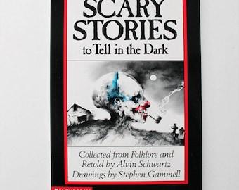 Scary Stories to Tell in the Dark By Alvin Schwartz 1989