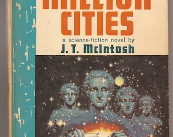 Pyramid, J.T. McIntosh: The Million Cities 1963