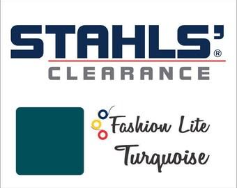 "15"" x 5 Yards - Stahls' Fashion-LITE Heat Transfer Vinyl HTV - Turquoise"