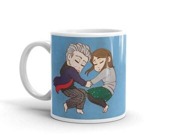 Cuddling 12 and Clara Mug