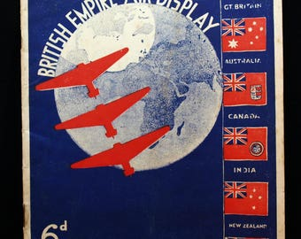Original programme for the British Empire Air Display - 1936
