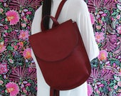 Large Leather Bag, Valentine Gift Idea, leather backpack, Everyday Casual Leather Accessories, Laptop backpack for women, back to school bag