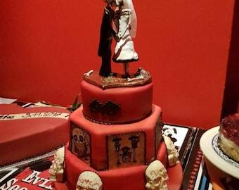 Wedding top cake.