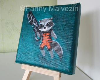 Rocket Racoon (Avengers - Marvel) - Mini painting