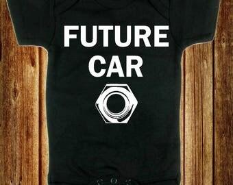 Future Car Nut Bodysuit