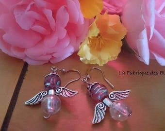 Original gift earrings my little angels