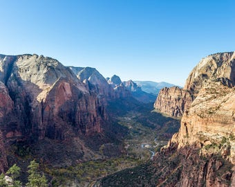 Zion National Park, Angels Landing, Desert Vibes, Outdoor Photography