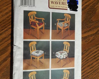 Butterick Waverly Chair Cushion Pattern   Uncut