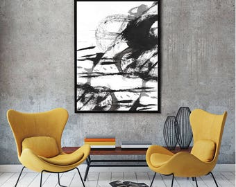 Black and White Art - Modern Art - Modern Wall Art - Black and White Prints - Black and White Art Prints - Black and White Wall art