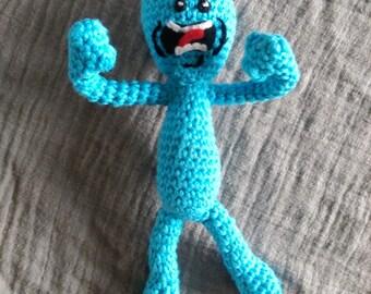 Mr Meeseeks *Crochet Pattern*