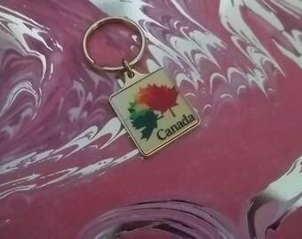 Canadian Maple Leaf Key Chain