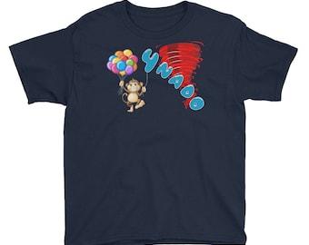 Fournado 4th bday Four Year Old 4th Birthday Tornado funny Shirt Birthday Shirts - Fournado Tornado - I'm FOUR - Four Nado birthday outfit
