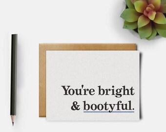 Nice Butt | Love Card | Cute Butt Card | Anniversary Card | Funny Love Card | Husband Card | Girlfriend Card | Funny Greeting Card