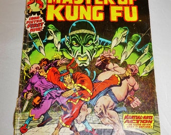 Special Marvin Edition, Master of Kung Fu #15, Vintage Bronze Age, Collectible Comic Books,  Huge Sale!