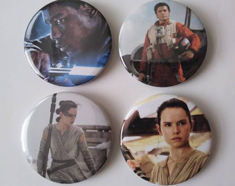 Star Wars The Force Awakens Buttons