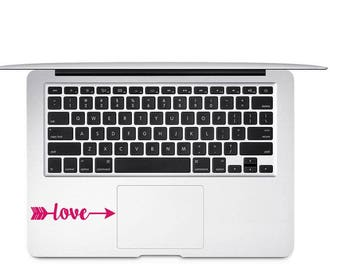 Love Arrow Decal, Love Decal, Girl Friend Gift, Teen Decal, Love Laptop Decal, Decal for Her, Arrow Decal, Love Tumbler Decal, Gift for Wife