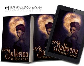 "Premade Digital eBook Book Cover Design ""Ballerina"""