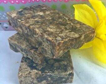 Raw African Black Soap, African Black Soap, African Soap for Acne, African Soap, Black Soap, Psoriasis Soap, Acne Soap, Eczema Soap, Soap