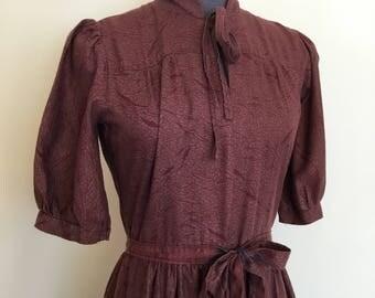 25% off sale / 1970s Vivien Smith dress