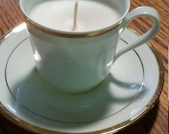 Handmade Teacup Candle