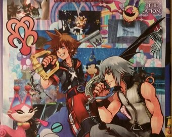 Kingdom Hearts: Dream Drop Distance Collage