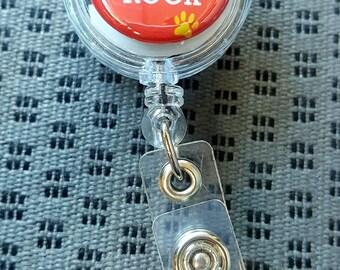 Various Flat Button Badge Reels, Retractable Badge Reels