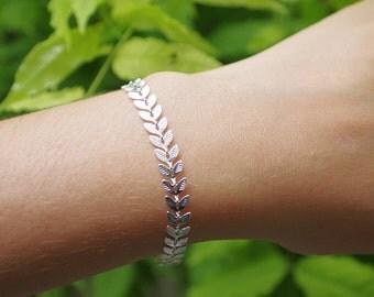 Bili silver bracelet