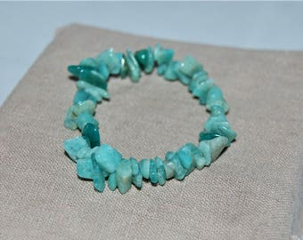 Green Amazonite Stretch Bracelet