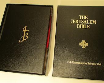 Jerusalem Bible Illustrated by Salvador Dali(Doubleday & Co., 1970)