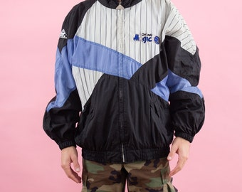 Orlando Magic, 90s Clothing, Fresh Prince, 90s Windbreaker, Windbreaker, Basketball, Sport Jacket, Track Jacket, 90s Vintage, Sportswear