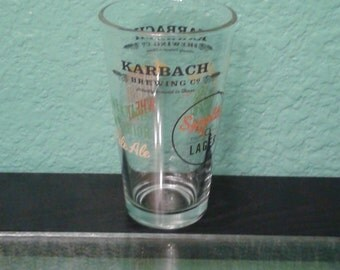 Beer glass, Karbach Brewing Co.