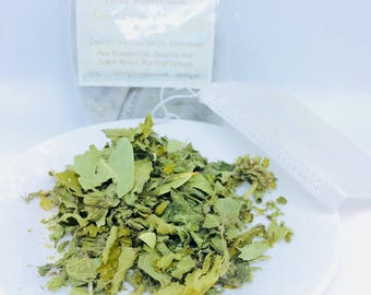 Bath Tea Bags Lemongrass Chamomile & Bayleaves